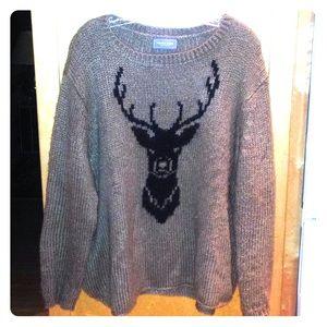 Soft reindeer sweater M/L